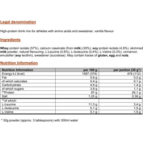 PowerBar ProteinPlus 92% Dose Vanilla 600g